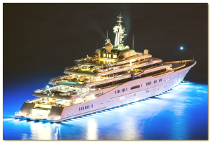 Roman Abramovich yacht photo  eclipse