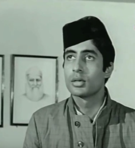 amitabh bachchan first movie saath hindustani