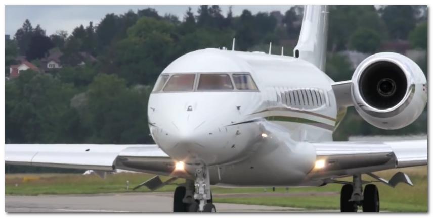 bill gates jet plane Bombardier BD-700 Global Express