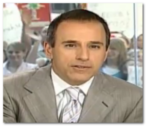 matt lauer pictures