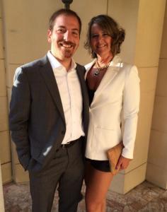 chuck todd wife Kristian Denny Todd
