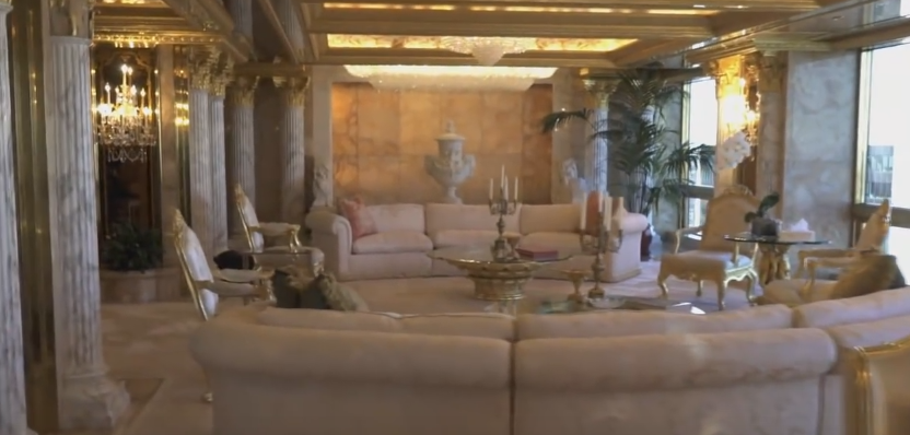 donald trump pent house home design wall