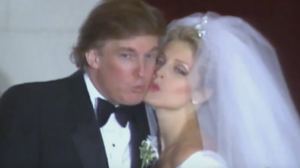 donald trump wedding Marla Maples