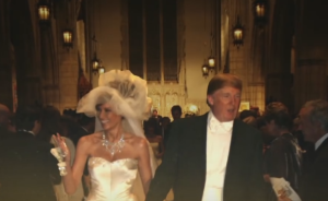Donald Trump with wife Melania