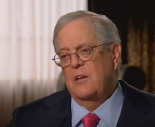 Richest persons in the world 2016 for David koch usa