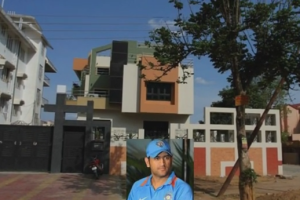 ms dhoni house ranchi