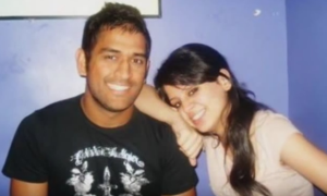 ms dhoni wife sakshi rawat