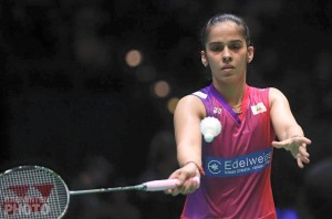 saina nehwal playing badminton