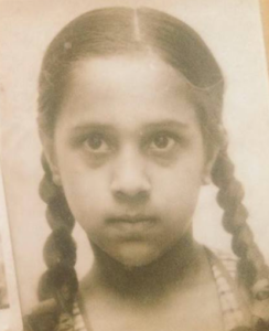 barkha dutt childhood photo