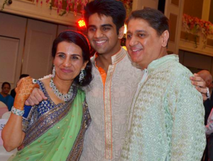 chanda kochhar husband son photo