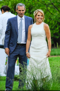 katie couric wedding photo John Molner