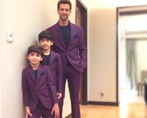 hrithik roshan children photo