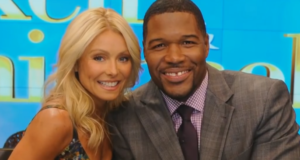 michael strahan with kelly ripa