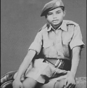 narendra modi childhood photo