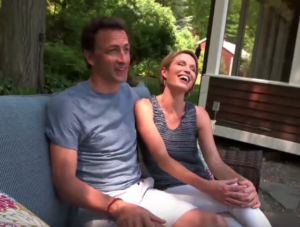amy robach husband andrew shue picture
