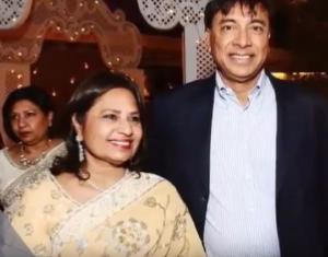 lakshmi mittal wife usha