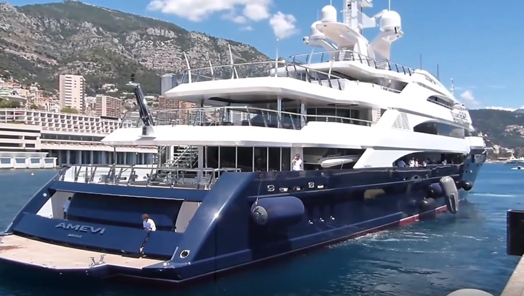 Superieur Lakshmi Mittal Yacht Amevi Photo