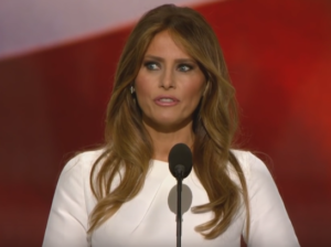 Melania Trump speech