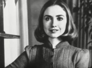hillary clinton young images