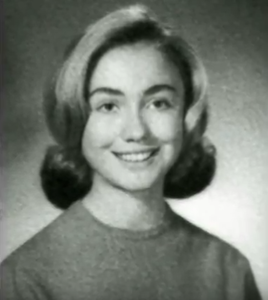 hillary clinton young photo