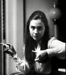 hillary clinton young photos