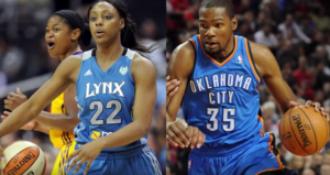 kevin durant girlfriend Monica Wright photo