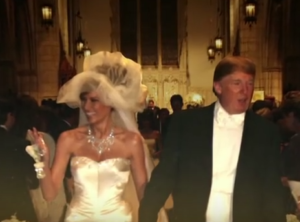 melania trump wedding dress donald trump