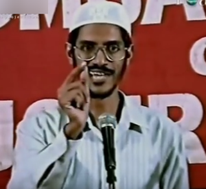 zakir naik young photo
