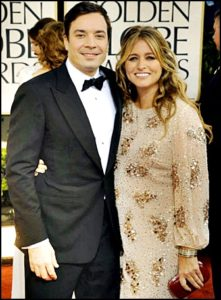 Jimmy Fallon with wife Nancy Juvonen images