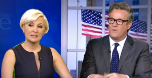 Joe Scarborough with Mika Brzezinski