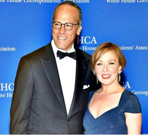 Lester Holt with Wife Carol Hagen