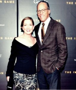Lester Holt with Wife Carol Hagen pics