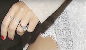 Miranda Keer Engagement ring