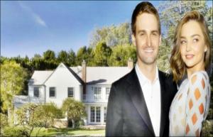 Miranda Kerr and Billionaire Snapchat Founder Evan Spiegel  house