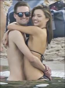 Miranda Kerr and boyfriend Evan Spiegel