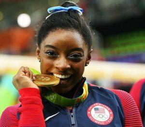 Simone Biles gold medal