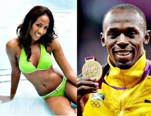 Usain Bolt's girlfriend April Jackson