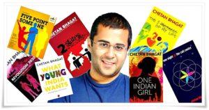 chetan bhagat-books