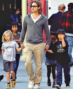 brad-pitt-with-kids