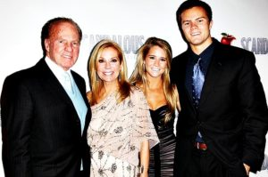 Kathie Lee Gifford with husband and kids
