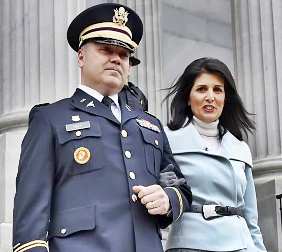 nikki-haley-with-husband-michael-haley