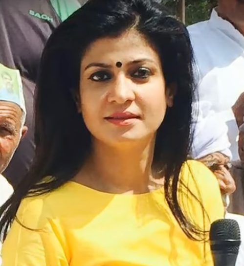Aaj Tak News Channel Anjana Om Kashyap - Sa...